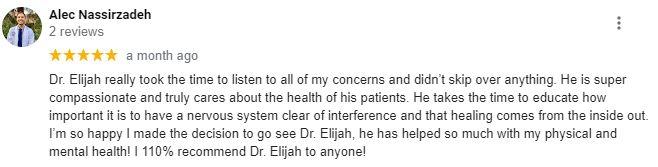 Chiropractic Sartell MN Patient Testimonial